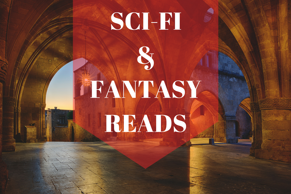 Explore New Worlds with these Sci-Fi Fantasy Reads - Borrow