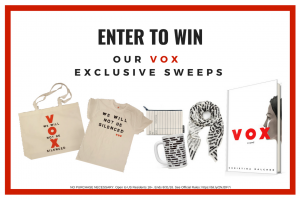 Enter Our VOX Sweepstakes!