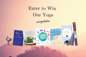 "Enter to Win Our ""A Yoga Retreat in Your Living Room"" Sweepstakes!"