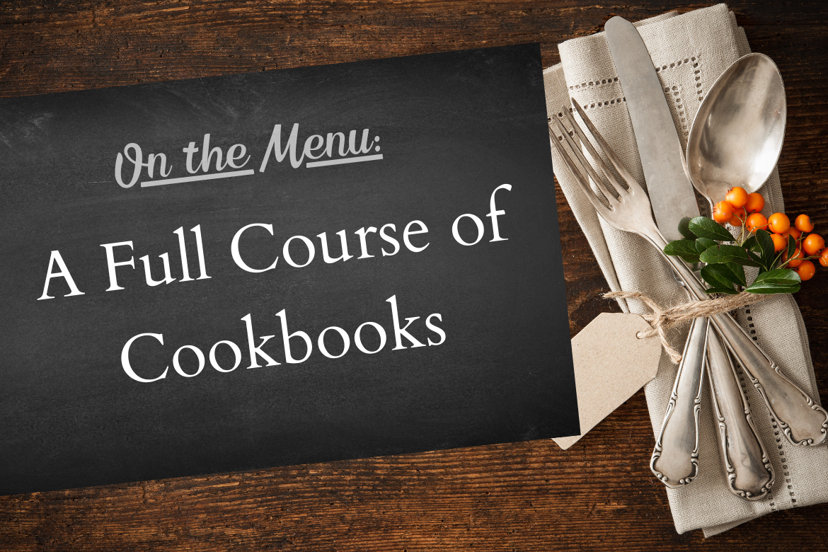 A Menu of Cookbooks