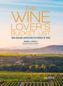 The Wine Lovers Bucket List Cover