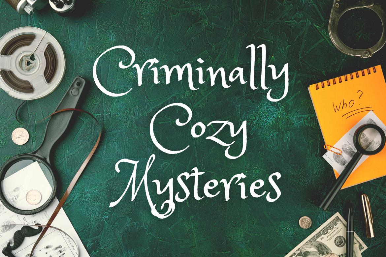 Criminally Cozy Mysteries